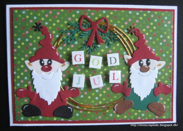 Flere julekort fra årets produktion: Tak for besøget