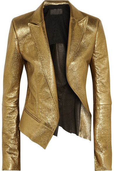 Haider Ackermann #golden jacket #style #fashion