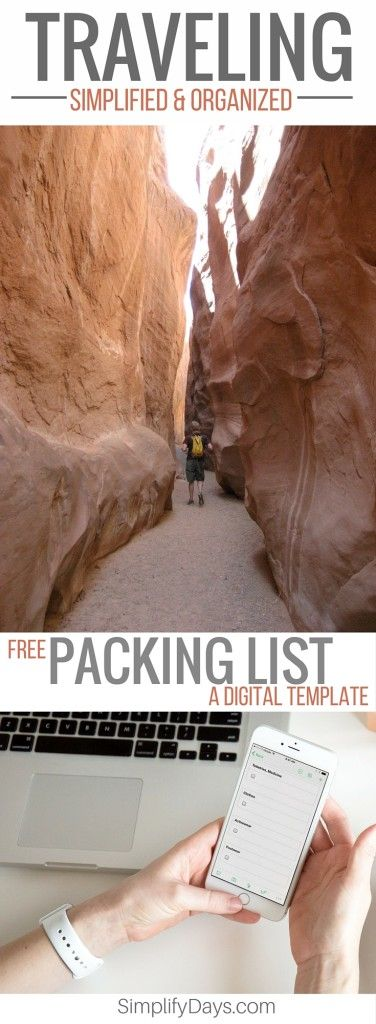 Are you ready for your next adventure? From the big to the small every trip goes much smoother with a little advanced planning. Get the tips and tricks + a FREE digital packing list. // SimplifyDays.com