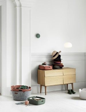 RESTORE TRAY - Modern Scandinavian Design Storage Basket by Muuto - Muuto