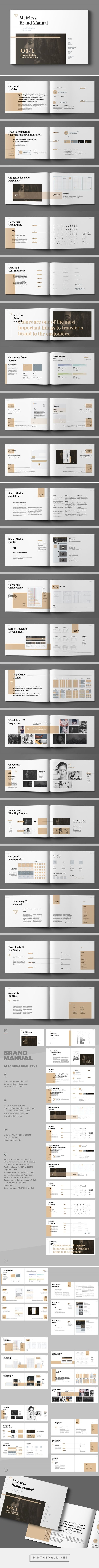 Brand Manual on Behance - created via https://pinthemall.net