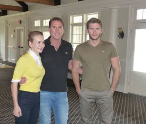 """The Longest Ride"" Interview with author Nicholas Sparks, actors Scott Eastwood and Britt Robertson. http://cwatlanta.cbslocal.com/2015/04/08/interview-with-the-longest-ride-nicholas-sparks-scott-eastwood-and-britt-robertson/"