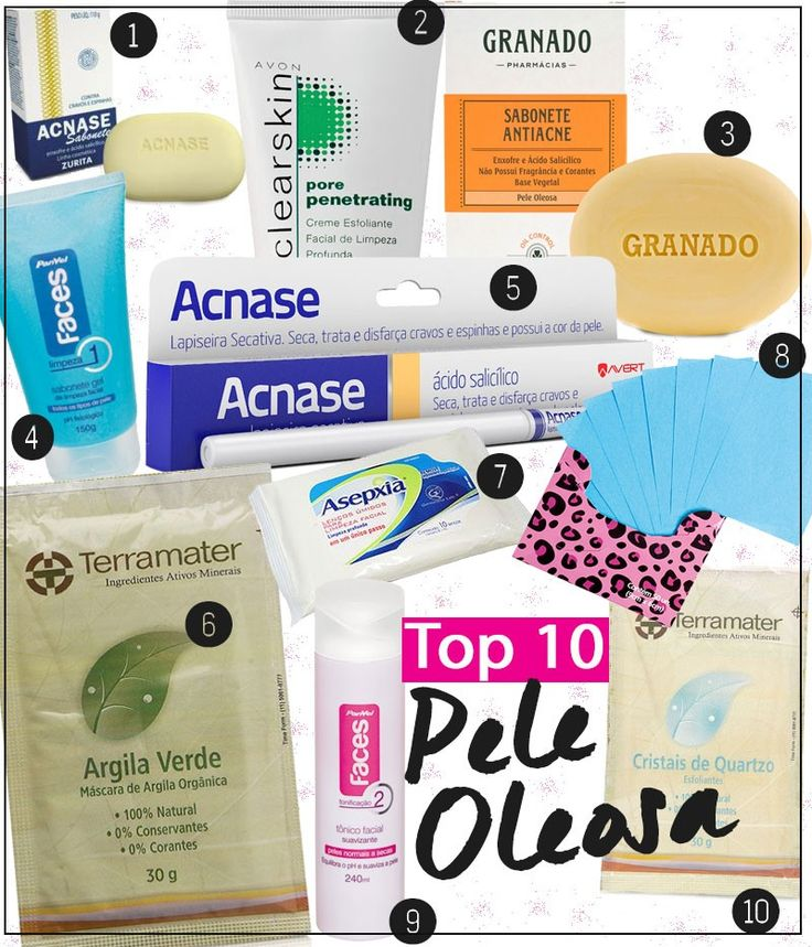 produtos para peles oleosas bons e baratos