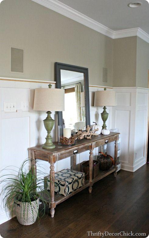 world market everett foyer table decorating your home. Black Bedroom Furniture Sets. Home Design Ideas