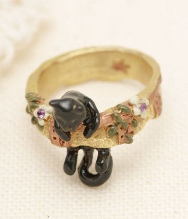 BroughSuperiorクララ・シンクレアBeautiful Baubles, Broughsuperior クララ, Clothing, Black Cats, Cat Rings, Clothes'S Accessories Sho, Kitty Rings, シンクレア, Pretty Jewelry