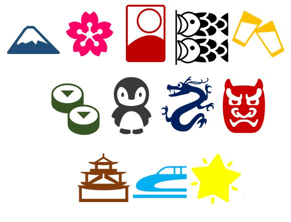 The awesome artwork hiding in the Japanese word processor: sakura, dragons, and sake