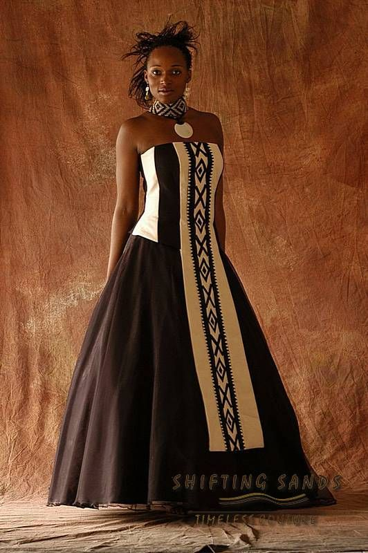 Nelly shifting sands traditional african white and black for White african wedding dress
