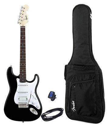 Fender Squier Bullet Strat HSS BK Set #Thomann