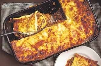Friday-night lasagne - 150 family dinners under 500 calories
