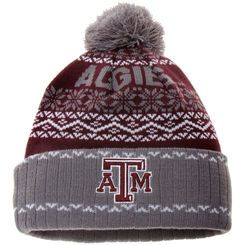 Men's Top of the World Maroon Texas A&M Aggies Ugly Sweater Sprinkle Cuffed Knit Hat