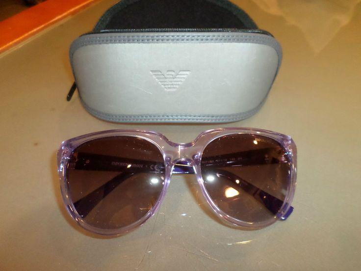Emporio Armani Brand New Lilac Sunglasses EA 4027 57MM 5071/8H Gradient $149.99…