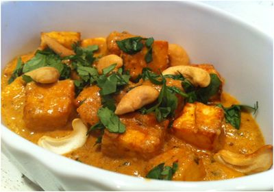 Paneer Pasanda, delicious juicy cubes of cottage cheese cooked in a creamy tomato sauce.. #VeganDishes