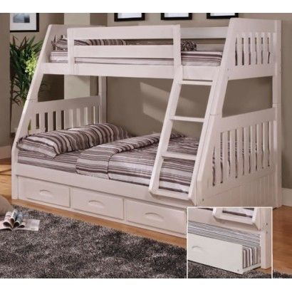 white twin full mission bunk bed - Etagenbett Couch Lego Film