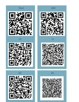 Order of Operations QR Code Activity