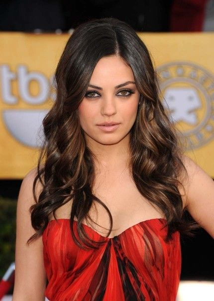 color: Hair Ideas, Girls Crushes, Hair Colors, Beaches Waves, Mila Kunis, Ombre Hair, Milakuni, Hair Makeup, Hair Style