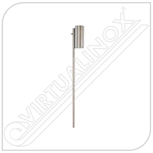 Balizador em Aço Inox Escovado 2 opções de Tamanho - LightInox