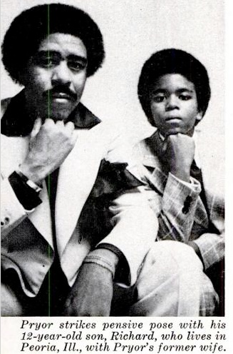 rare image of richard pryor and his son black butterfly