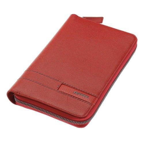 Men's Ferrari GT Leather Travel Document Holder