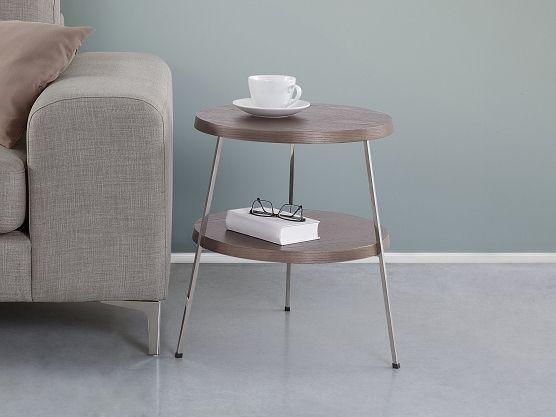 stolik kawowy - brązowy - ława - kawowa - COIMBRA ✓ Kupuj bez ryzyka z odroczonym terminem płatności z gwarancją 365 dni na zwrot towaru