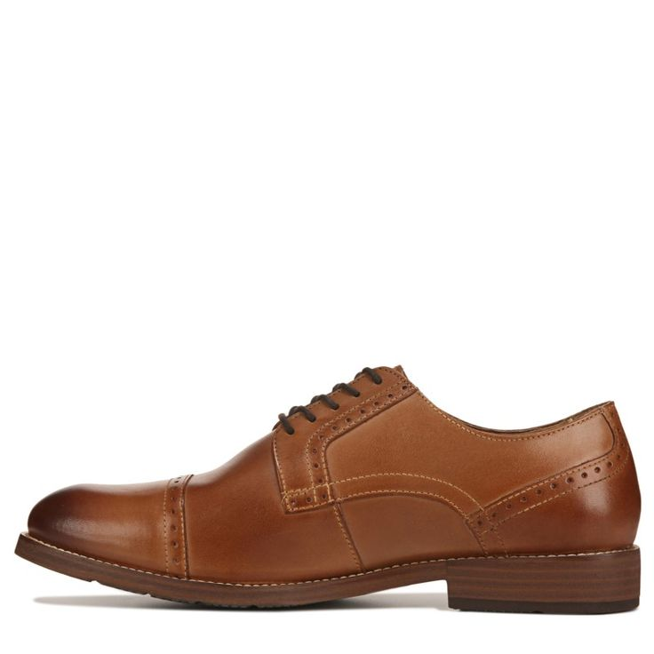 Nunn Bush Men's Middleton Cap Toe Oxford Shoes (Cognac)