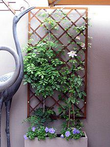 Gardens of Steel - Designer hand woven steel lattice, lattice panels, lattice screens, metal lattice, rusted lattice and rusty lattice