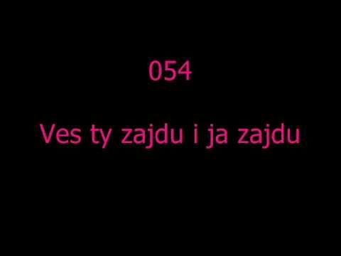 LUDOVKY Z VYCHODU 054 - Ves ty zajdu i ja zajdu - YouTube