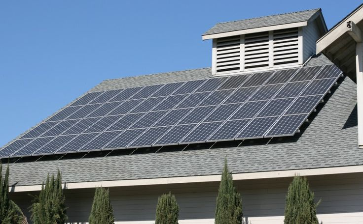 solar panel system for home