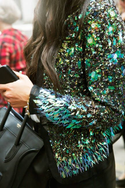 Major embellishment. Details in streetstyle
