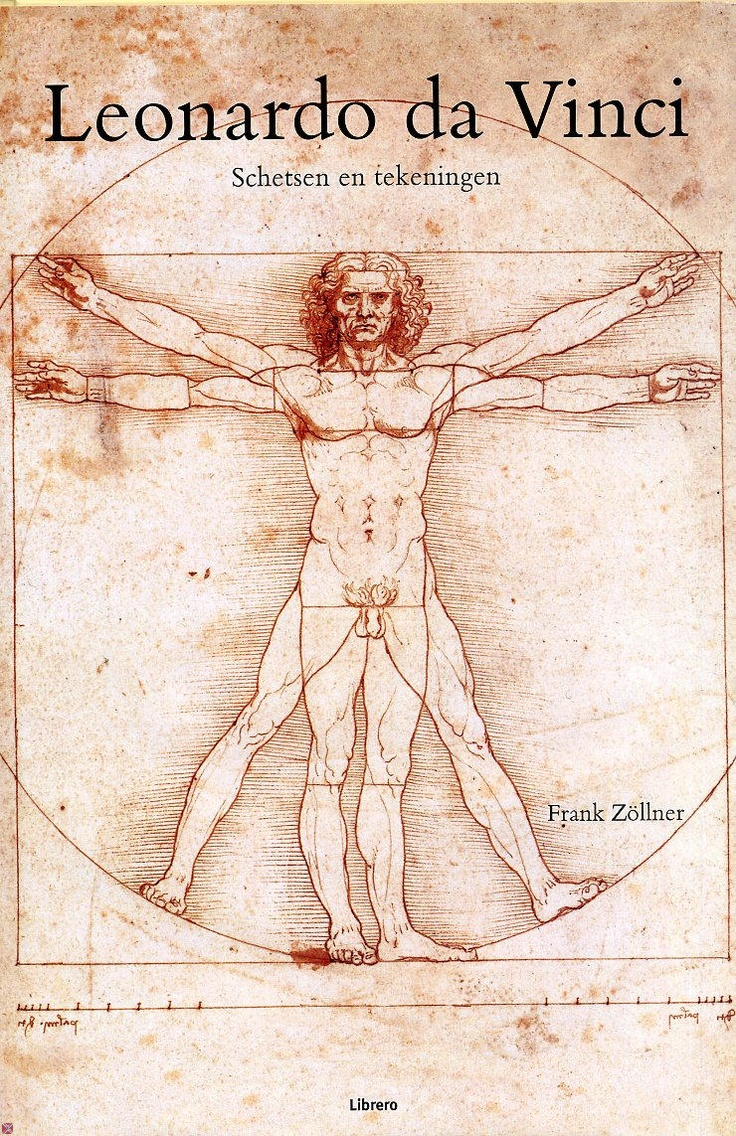 Leonardo da Vinci, Schetsen en tekeningen - Frank Zöllner - Librero. Dit is één van de bekenste schetsen van Leonardo da Vinci. Hier wordt de man getekent