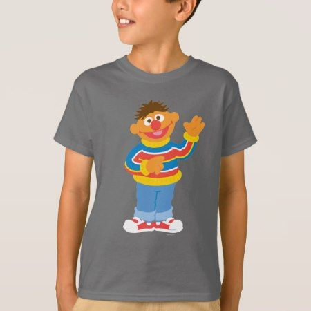 Ernie Graphic T-Shirt - click/tap to personalize and buy