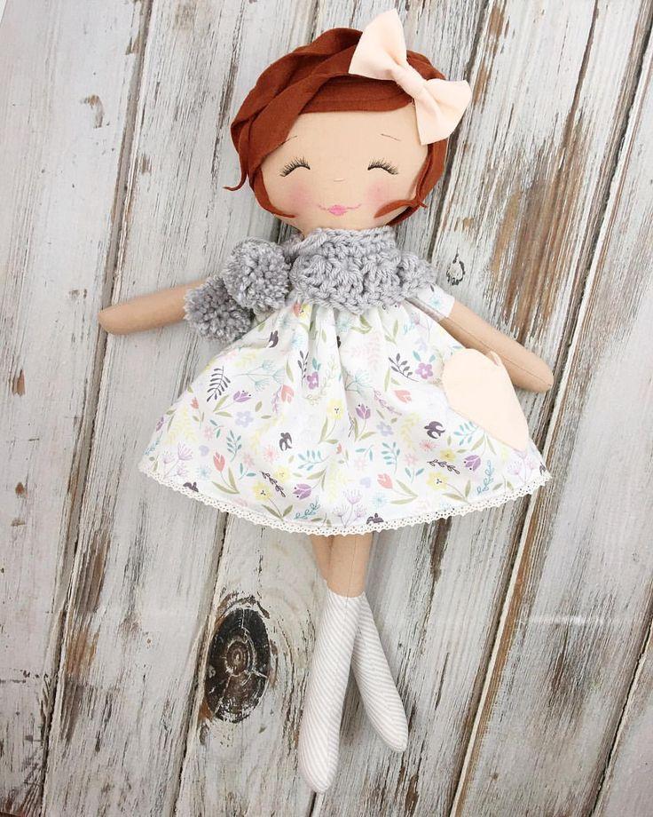 Handmade Rag Doll by SpunCandy