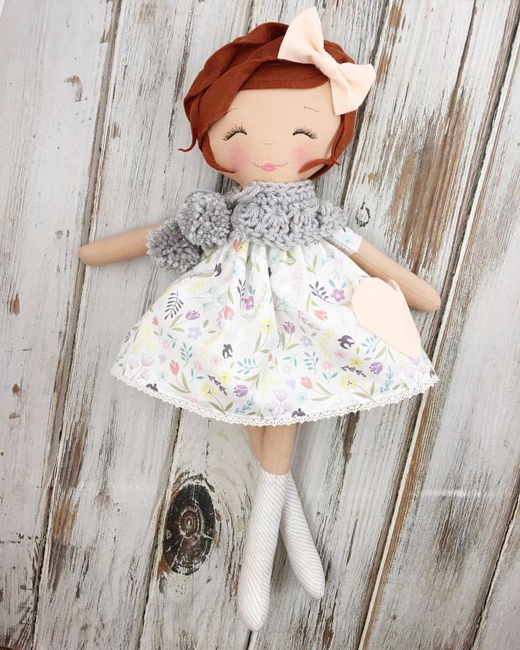 Handmade Rag Doll by SpunCandy