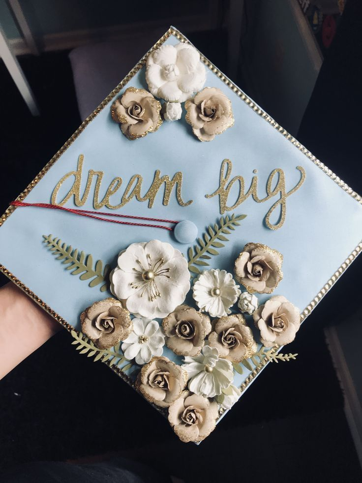 Dream #big #/ #graduation #cap #idea #- # #- # #decoration #Big