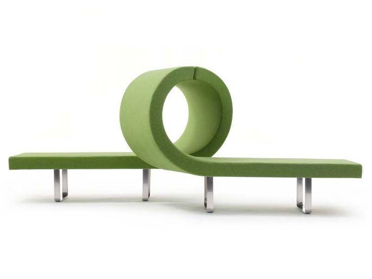 Highway modular bench / Bartoli Design for Segis #bartolidesign #segis #contractfurniture