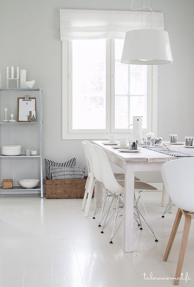 Scandinavian dining room by Talosanomat.