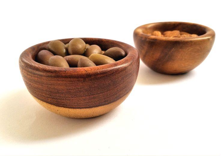 A small #wooden #snack #sauce #bowl omarhandmade.com #handmade #etsy #dawanda #organic #kitchen #dining
