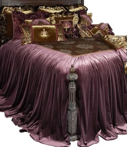 The Guinevere is decadence at its finest. The luxurious eggplant velvet is mixed with a lightweight velvet classic print in olive greens, silvers, and a touch of gold. The ruffled...