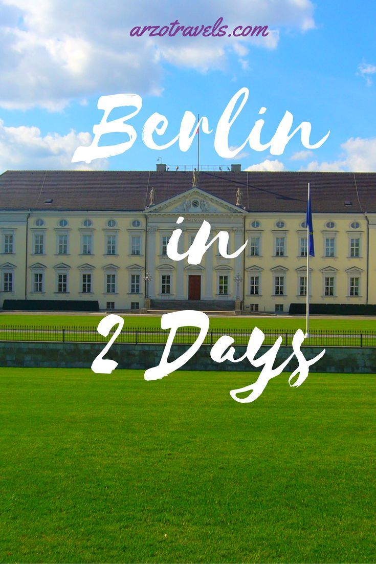 What to do in 2 days in Berlin, Germany? Find out, and get inspiration for a day trip from Berlin.