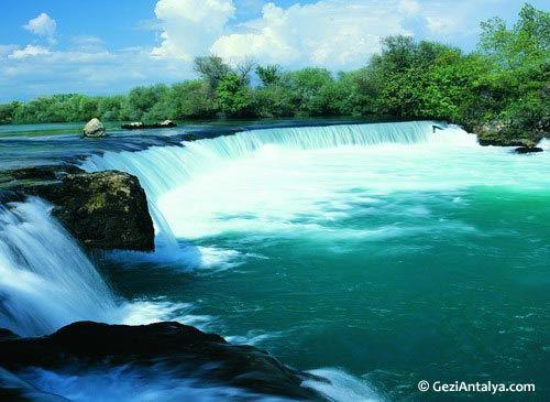 Side, Antalya. Manavgat Stream