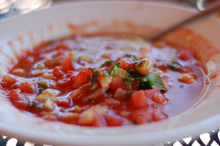 """This links to the study: """"Gazpacho consumption is associated with lower blood pressure and reduced hypertension in a high cardiovascular risk cohort. Cross-sectional study of the PREDIMED trial."""" http://www.ncbi.nlm.nih.gov/pubmed/23149074"""