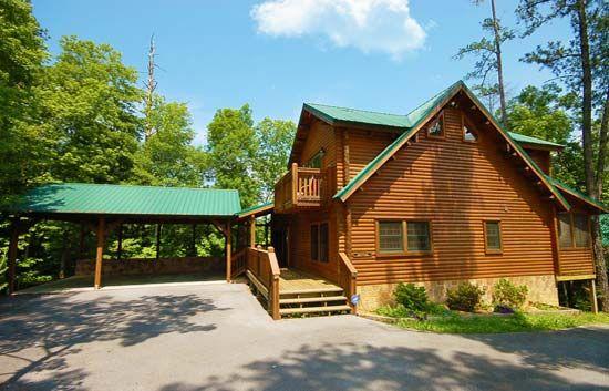 Bears den vacation cabin rental in pigeon forge and - Gatlinburg 3 bedroom condo rentals ...