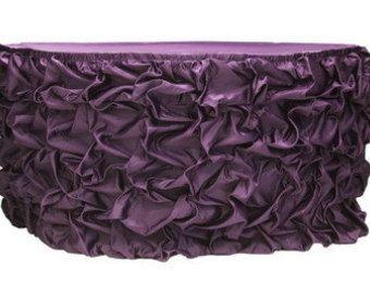 Más 50% off!!! Prodigar hinchada Rouched falda de tabla del satén sedoso - varios colores y tamaños disponibles