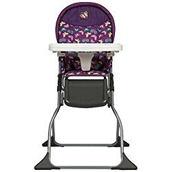 Cosco Simple Fold High Chair, Butterfly Twirl