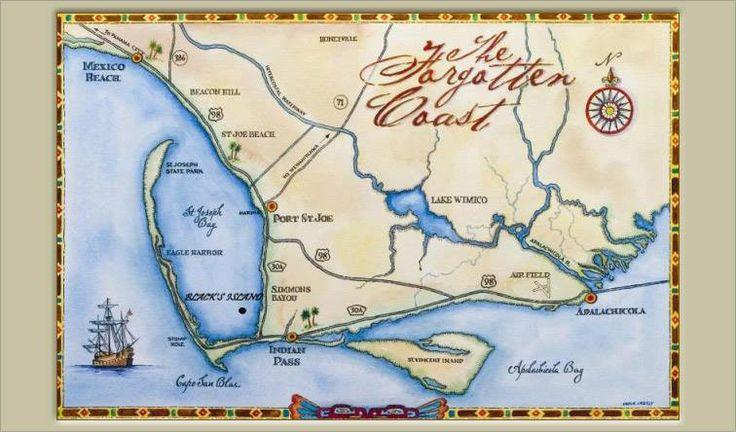 The Forgotten Coast Cape San Blas Fl