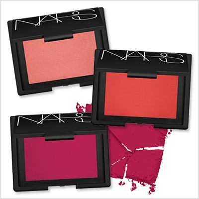 NARS' GUY BOURDIN COLLECTION BLUSH In Day Dream, Exhibit A, and Couer Battant, $29 each; narscosmetics.com starting October 15.