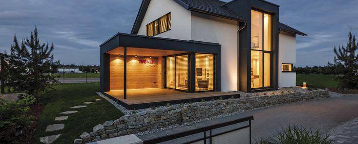 Modernes Holzhaus - Rubner Haus - Holzhaus - Fertighaus - Südtirol