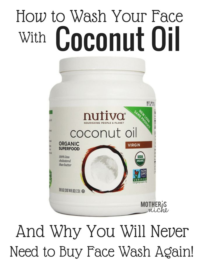 There are so many reasons you should be using coconut oil to wash your face!