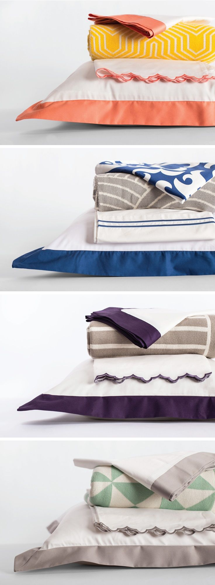 From luxury sheets to beautiful bedding and colorfully patterned duvets, Crane & Canopy has the perfect bedding for your style. Check them out...their bedding and fabrics are awesome!
