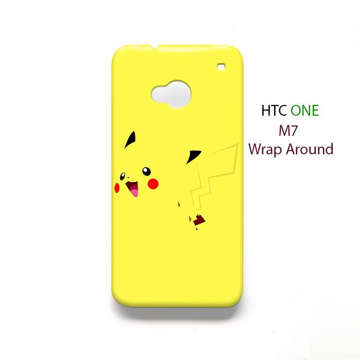 Pokemon Pikachu HTC One M7 Case