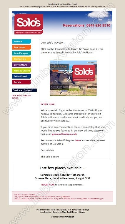 Best Email Design Travel  Tourism Images On